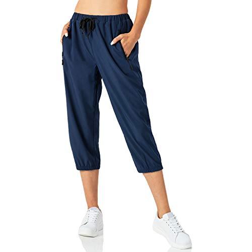 Butrends Pantalon de Jogging léger pour Femme Pantalon de Longueur 3/4 à...