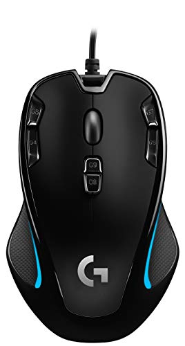 Logitech G300s Optical Ambidextrous Gaming Mouse...