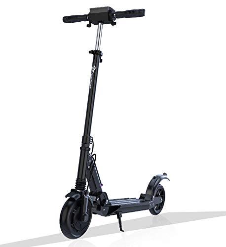 GeekMe Patinete Eléctrico Scooter Eléctrico hasta 30 km/h | Scooter Eléctrico PlegableBatería Li-Ion 7,5 A | con Pantalla LCD | Carga máxima 120 kg para Adultos y Niños