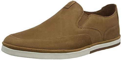 Rockport Austyn Slipon Summer Shoe, Alpargatas Hombre, Caramelo marrón 004, 43 EU