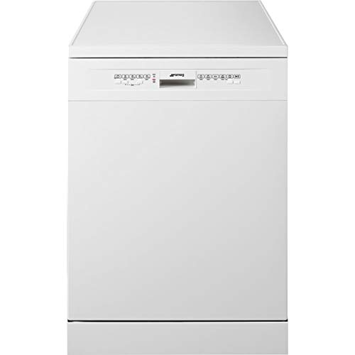 Smeg Free Standing Dishwasher with 13 Place Settings, 5 Programs, 5 Washing Temperature and Inverter Technology