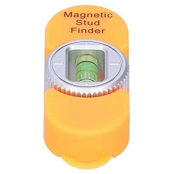 Surebuy Détecteur de Goujons, marquage Facile, Haute précision, Aimant Puissant intégré, détecteur de Goujons magnétique Portable pour la détection de métaux et de Clous(Orange)