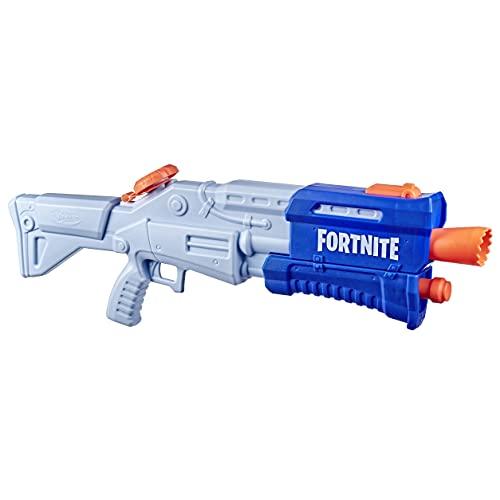 Nerf Fortnite TS-R Nerf Super Soaker Water Blaster Juguete, Acción de la Bomba, 36 onzas líquidas o 1 litro de Capacidad, para niños, Adolescentes, Adultos