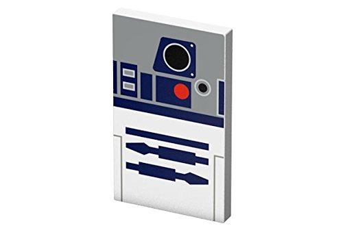 Tribe Star Wars - Cargador portátil (4000mAh) batería externa móvil para celulares, diseño R2D2