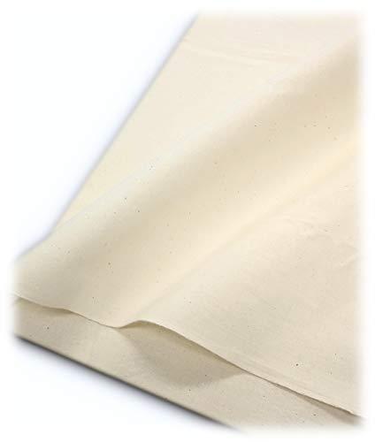 (kiji-morishima) 綿 100% シーチング 生成り 無地 【 95cm 巾 × 2m 】生地 手芸 ハンドメイド