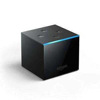 Découvrez Fire TV Cube, Mains-libres avec Alexa, lecteur multimédia en streaming 4K Ultra HD