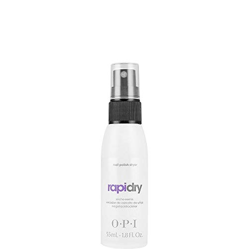 OPI Nail Polish Fast Drying Top Coat Spray, RapiDry, 1.8 Fl Oz