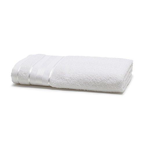 Toalha de Banho, Linha Royal, Knut, Santista, 100% Algodão, Branco, 70 cm x 130 cm