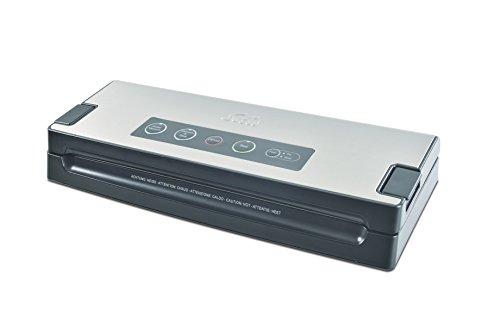 Solis VAC Premium 574 Apparecchio per Confezionamento Sottovuoto, Acciaio Inossidabile, Argento