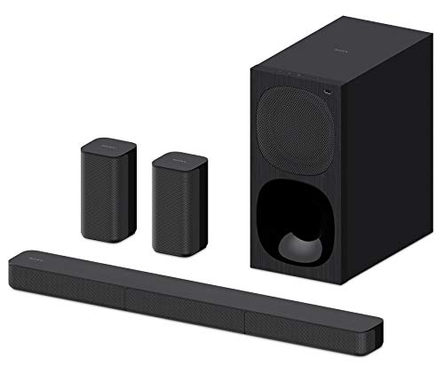 Sony HT-S20R Real 5.1ch Dolby Digital Soundbar for TV with subwoofer and Compact Rear Speakers, 5.1ch Home Theatre System (400W,Bluetooth & USB Connectivity, HDMI & Optical connectivity)