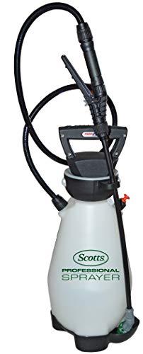 Scotts 190567 Lithium-Ion Battery Powered Pump Zero Technology Sprayer, 2 Gallon, White
