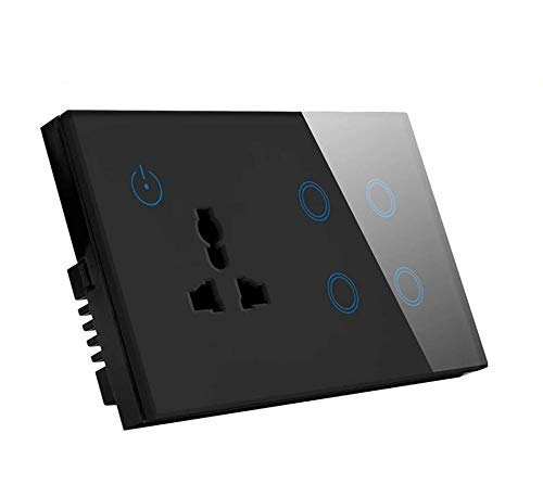 Protium Smart Touch Combo Switch, With Energy monitoring function, Compatible with Alexa, Google...