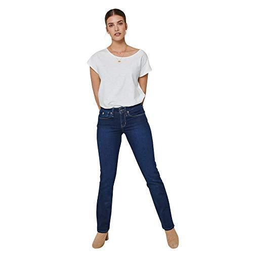 Kuyichi Damen Jeans Joy Straight Bio-Baumwolle/recycelte Baumwolle,...