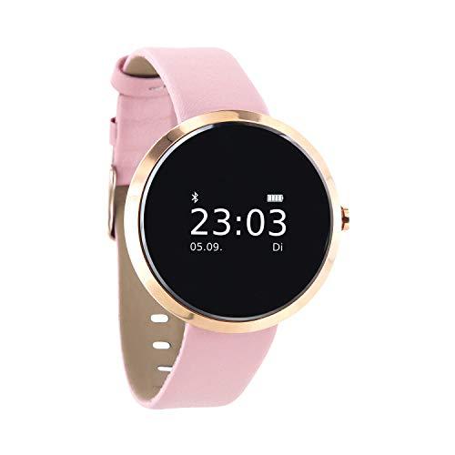 """X-WATCH 54010 \""""SIONA XW FIT\"""" Damen Smartwatch, Activity Tracker für Android und Apple iOS Light Rose Gold"""