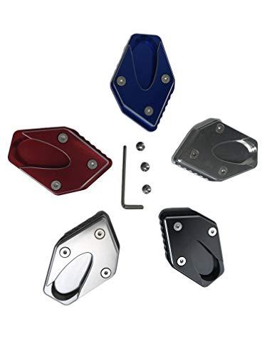 全5色 Suzuki スズキ GSX250R GSR250 GSR250S GSR250F V-Strom 250 に適用 サイドスタンドエクステンション レッド