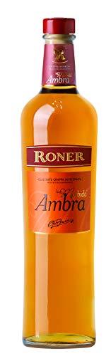 Roner Ambra La Morbida (1x 0,7l) - Grappa invecchiata Grappa di Moscato & Chardonnay Distilleria Artigianale Alto Adige Sdtirol piu premiata d'Italia - 700 ml