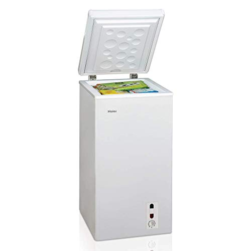 Haier Congelatore a Pozzo a Libera Installazione BD66GAA Finitura Bianco da 44cm, Senza...