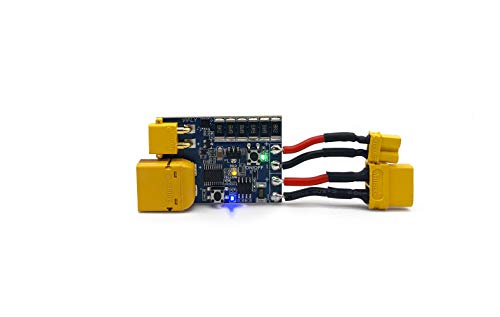 VIFLY ShortSaver V2 Smart Smoke Stopper con Fusibile elettronico pu individuare e prevenire Corto circuiti e superamento di carico. Sono Disponibili i connettori XT30 e XT60 per Droni FPV