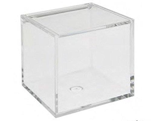 Astucci e portaconfetti Scatola Plexiglass 5x5x5 Cm