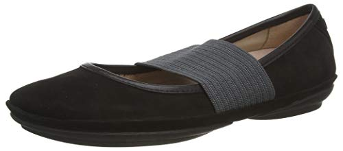 Camper Right Nina 21595, Mary Jane Mujer, Black, 38 EU