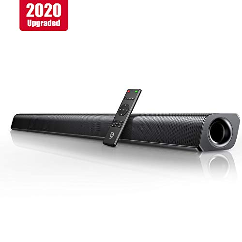 BOMAKER Soundbar 2.0 Canali 2020 Aggiornato, Potenza di Picco 80W 110dB, Bluetooth 5.0, 37 Pollici,...