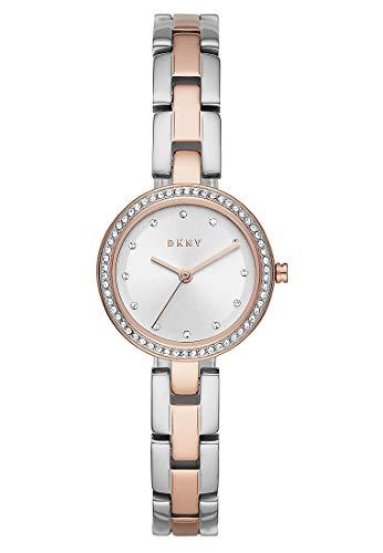 DKNY Damen-Uhren Analog Quarz One Size Bicolor 32010654
