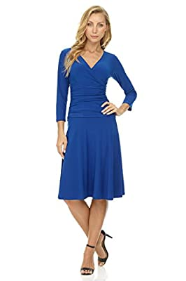 Made in Vietnam, China or Canada. Easy care: Machine wash, cold water. Hang to dry or lay flat. SECRETLY SLIMMING: Pull-on style (no zipper, just pull-on over your head) with Hidden tummy control panel that slims waistline. A touch of added control w...