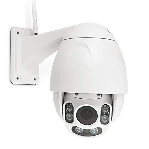 Thomson - Cámara web inalámbrica - DSC-925, 1 sensor HD CMOS F: 2,8 mm ~ 12 mm - F: 1,6 mm - Ángulo 40 ~ 105, 1 ranura para tarjeta micro SD tamaño máximo de 64 GB (no incluido) - 512493