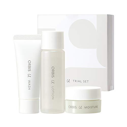 オルビスユー トライアルセット(洗顔料・化粧水・保湿液/各1週間分)