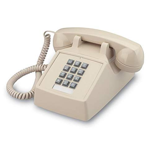 Single Line 2500 Classic Analog Desk Phone with Volume...
