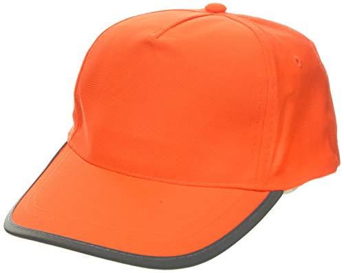 Korntex KXCAPO58 - Cappello Basic HighViz, Taglia Unica, Colore: Arancione