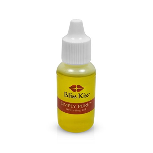 Bliss Kiss Simply Pure Cuticle & Nail Oil | 0.5oz | Dropper CRISP