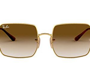 Ray-Ban Women's RB1971 Icons Oversized Square Mirrored Sunglasses 51