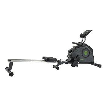 Tunturi Cardio Fit R30 Rameur d'appartement Pliable / Machine à ramer / Rowing machine - Système de Freinage magnétique - avec écran LCD - de Résistance Réglable - ordinateur d'entraînement