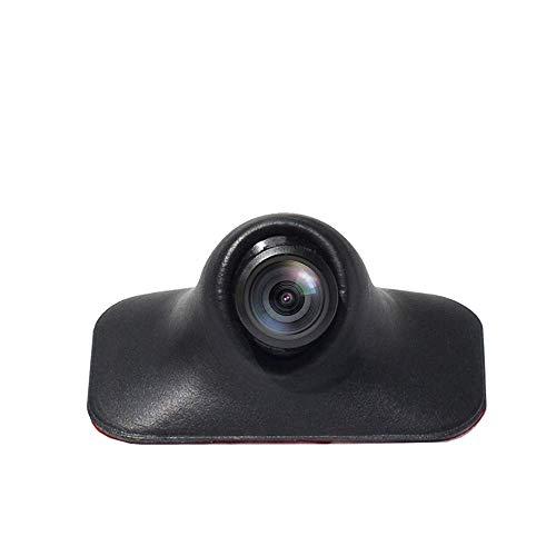 PARKVISION Telecamera Laterale Fotocamera Anteriore Telecamera Posterioree, Mini Telecamera DC 12V con Funzione di capovolgimento dell'immagine, Senza Linee di parcheggio [S142]