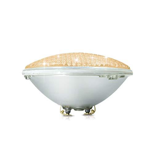 COOLWEST 36W LED Poolbeleuchtung Warmweiß Unterwasserleuchten, 12V AC/DC IP68 Wasserdicht Unterwasser PAR56 Pool Scheinwerfer, ersetzen 300W Halogen Spot