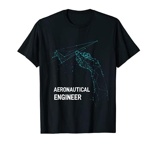 Regalo divertido del ingeniero aeronáutico   Avión de papel Camiseta
