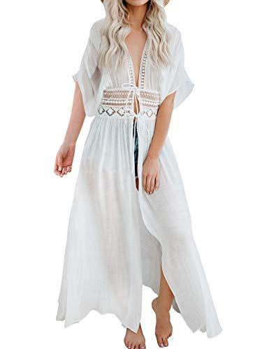 FANCYINN Camisolas y Pareos para Mujer Vestido de Bikini Ropa de Baño Playa Traje de Baño Vestido