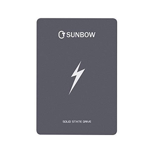 TC SUNBOW 1TB SSD 3D NAND 1024M Cache Performance Boost SATA III 2.5' 7mm Internal Solid State Drive 1TB