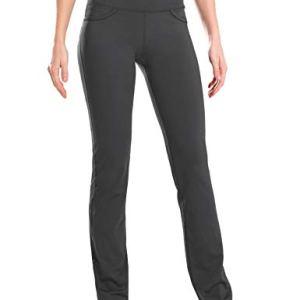 "Safort 28"" 30"" 32"" 34"" Inseam Regular Tall Straight Leg Yoga Pants, Workout Pants 48"