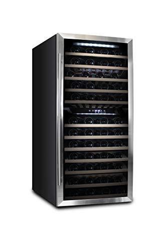 Datron Cantinetta Vino 84 bottiglie bordolesi, doppia temperatura, climatizzata, professionale