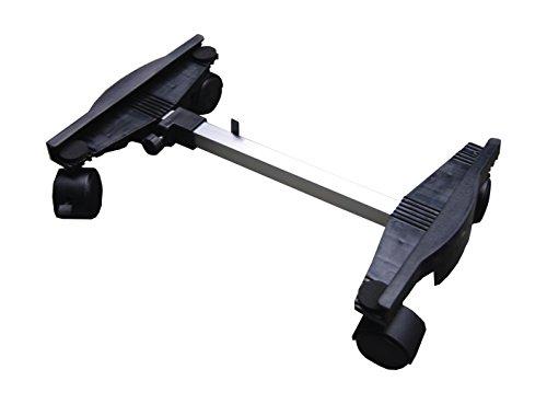 Greenstar 16422 Chariot reglable 45-60cm (sh600), Noir