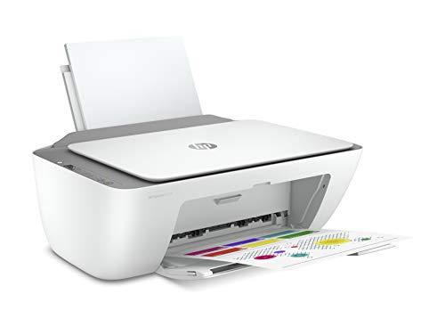HP DeskJet 2720 - Impresora multifunción, Wi-Fi de doble banda con restablecimiento automático, gris, 425 x 304 x 154