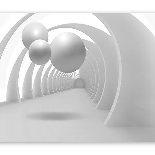 murando Fototapete 3D 400x280 cm Vlies Tapeten Wandtapete XXL Moderne Wanddeko Design Wand Dekoration Wohnzimmer Schlafzimmer Büro Flur Abstrakt Kugeln Architektur a-B-0034-a-a