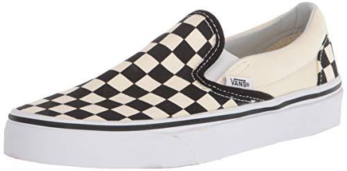 Vans Unisex Adults' Classic Slip On, Black/Off White Check, 4.5 UK