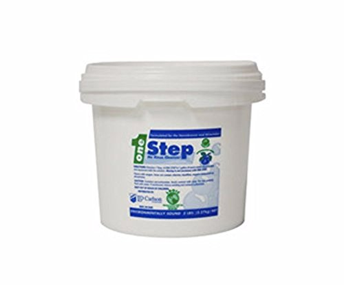 FastRack Logic One Step The Original No Rinse Brewing Sanitizer, Powder is the Perfect Carboy Sanitizer, Wine Making Sanitizer or Beer Line Cleaner Powder, White, 5 lbs