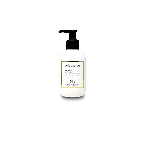 OP BLONDE REPAIR SERUM N3, siero riparatore in crema, prodotto professionale per capelli danneggiati, 250 ml, trattamento intensivo rigenera e protegge, a base di proteine, uso prima dello shampoo