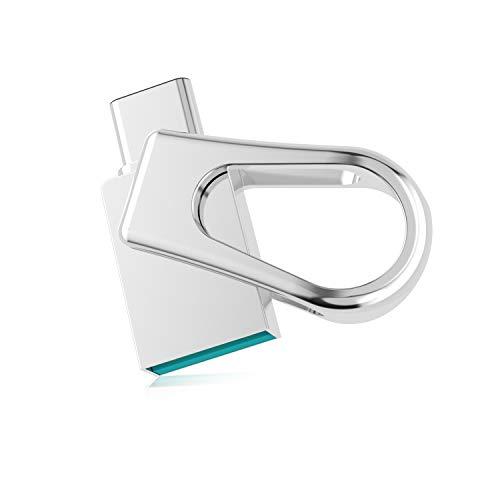 RAOYI Chiavetta USB C 64GB, Pendrive USB 3.0 e...