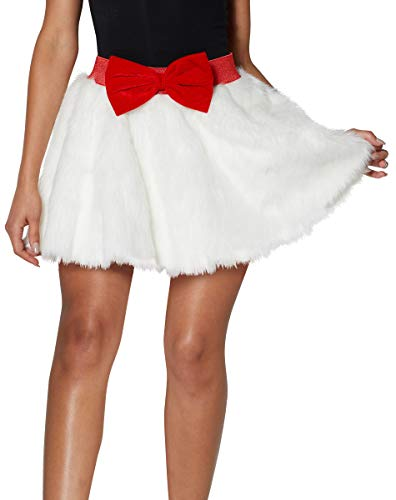 Spencer Gifts Light-Up Faux Fur Skirt - S/M