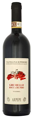 Valtellina Superiore Grumello D.O.C.G. Grumello Rocca De Piro 2015 Ar.Pe.Pe Rosso Lombardia 13,5%